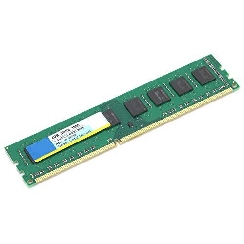 Módulo de Memoria RAM de 2GB/4GB DDR3 1066Mhz, PC3-8500 Módulo de Memoria RAM de Escritorio U-DIMM de 1.5V 240-Pin para AMD(4 GB)