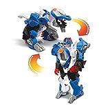 VTech - Switch & Go Dinos - Lutor, Super Stégosaure - Buggy, Voiture/Dinosaure,...