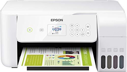 Epson EcoTank ET-2726 - Impresora de inyección de tinta 3 en 1 (Impresora, escáner, fotocopiadora)
