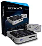 Hyperkin - Consola Retron 5, Color Gris + Mando Bluetooth