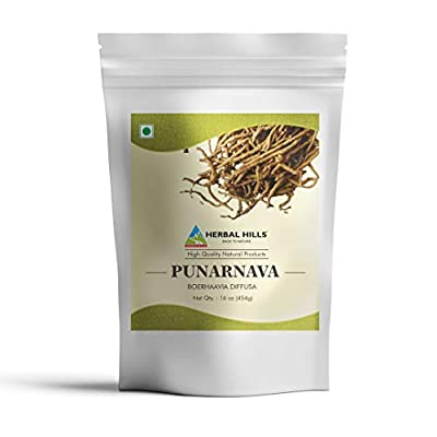Punarnava Powder is utilized to help in comfortable movements of the joints for those with Kapha (Water) imbalances. It also helps in reducing Joint stiffness, thus known as joint pain relief supplements * Raw herb powder, Gluten-Free, Vegan, Punarna...