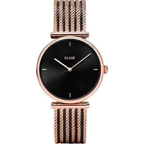 CLUSE Damen Analog Quarz Uhr mit Edelstahl Armband CW0101208005