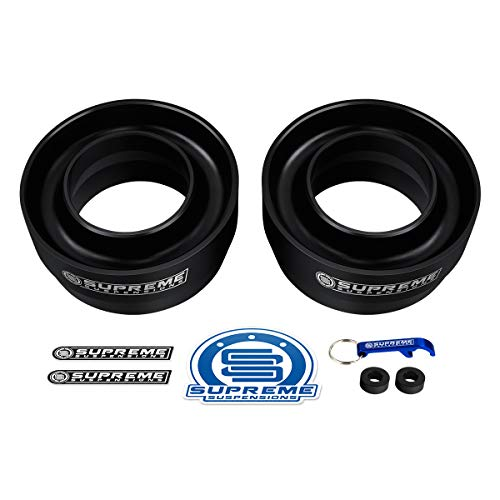 Supreme Suspensions - Front Leveling Kit for 1994-2011 Dodge Ram 2500 3' Front Lift Spring Spacers 2WD