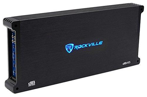 Rockville dB45 3200 Watt/1600w RMS 4 Channel Amplifier Car Stereo Amp, Loud!!