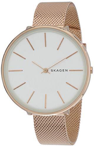 Skagen Damen Analog Quarz Uhr mit Edelstahl Armband SKW2688