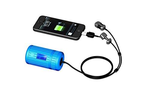 Product Image 1: Powertraveller Powermonkey Explorer 2 – Caricatore Impermeabile da Telefono, Blu (Blu), N/A