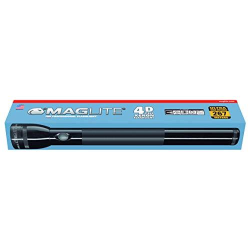 Mag-Lite 4 D-Cell Stablampe, 37,5 cm, schwarz, S4D015
