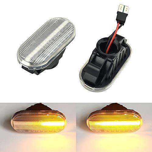 Dinamici LED indicatori di direzione luci laterali per Navara D40 Note E11 NE11 Pathfinder III R51 Qashqai J10 JJ10 Qashqai+2 Tiida C11 Micra K12