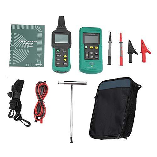 Kabel-Locator, MS6818 12V-400V AC/DC-Draht-Kabel-Locator-Metallrohr-Detektor-Tester-Linien-Tracker für Kommunikationskabelbau/Pipelinebau, Langlebig