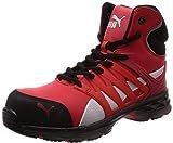 [プーマセーフティー] 安全靴 作業靴 ヴェロシティ2.0 ミッドカット JSAA A種認定 先芯合成樹脂 衝撃吸収 疲労軽減ミッドソール採用 レッド 25.0cm