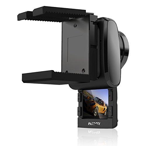 PAPAGO 国内正規販売品 安心日本語対応 GoSafe200 革新的なスライド式モニター採用 高画質ドライブレコーダー GoSafe200 GS200-BK-8G