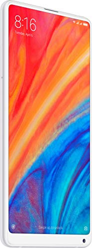 Xiaomi Mi MIX 2S with 6GB RAM and 64GB Storage 5.99-Inch Android 8.0 UK Version SIM-Free Smartphone - White (Official UK Launch)