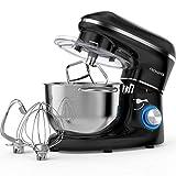 Cuisine Robot patissier multifonction 1400 watts,6 vitesses réglables,...
