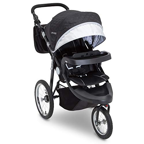 Jeep Cross-Country Sport Plus Jogger by Delta Children, Charcoal Galaxy