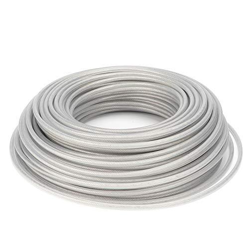 Trinciaerba 6000cm/2362.2 pollici, corda per decespugliatore a filo di acciaio, attrezzo da...