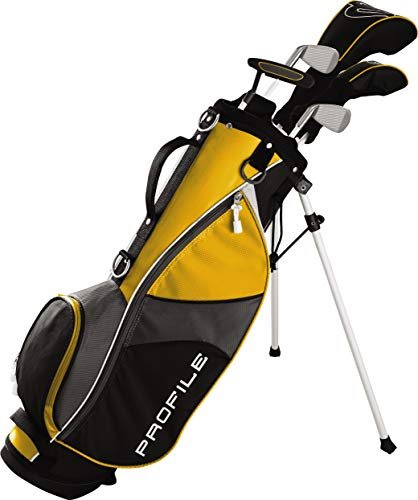 Wilson Golf Profile JGI Junior Complete Golf Set  Medium, Yellow, Right Hand