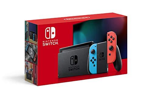 Nintendo Switch 本体 (ニンテンドースイッチ) Joy-Con(L) ネオンブルー/(R) ネオンレッド(バッテリー持続...
