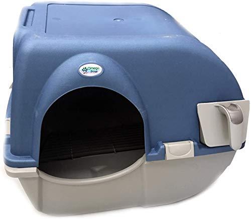 Omega Paw Roll n' Clean Katzentoilette Katzenklo selbstreinigend Regular,...