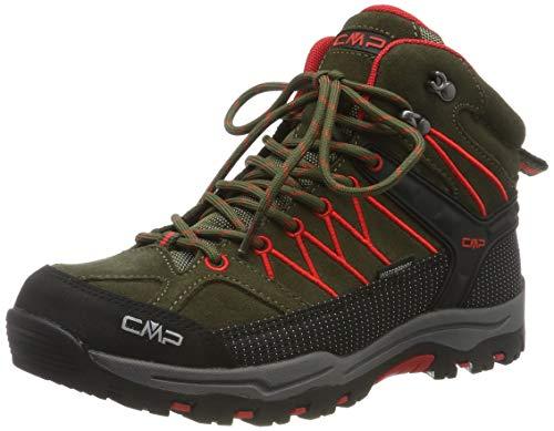CMP Unisex-Kinder Kids Rigel Mid Shoe Wp Trekking-& Wanderstiefel, Grün...