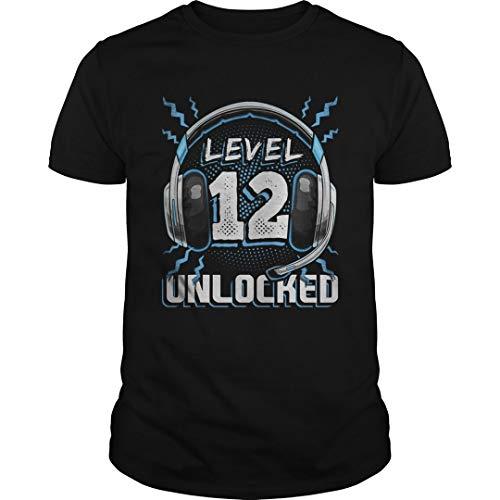 Level 12 Unlocked Video Game 12th Birthday PC Gaming Shirt