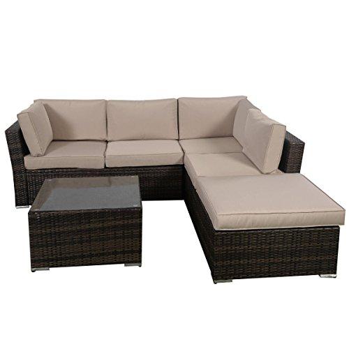 Giantex 4-Piece Patio Furniture Set Review