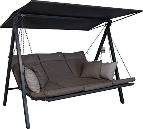 Angerer Lounge Hollywoodschaukel, Taupe
