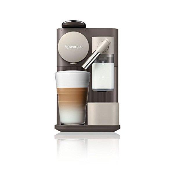 Nespresso Lattissima One, Coffee Machine with Aeroccino, 110V, Brown