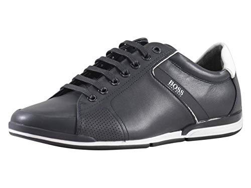 Hugo Boss Men's Saturn Dark Blue Sneakers Shoes Sz: 8