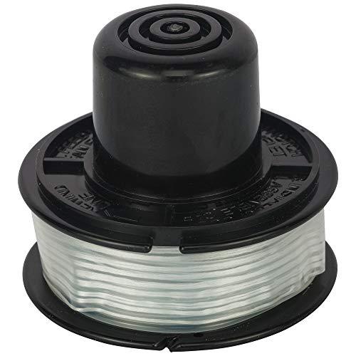 BLACK+DECKER Filo Nylon Rocchetti, 1 pezzo X 6 metri, filo 1,5 mm, Rocchetto a Pressione, Accessori Tagliabordi , A6226-XJ
