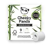 The Cheeky Panda – Papier Toilette en Bambou   Pack de 9 Rouleaux (3...