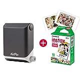 KiiPix - Imprimante Photo instantanée pour Smartphone - avec kit de...