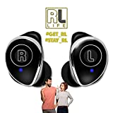 RL Audio - True Wireless Earbuds Bluetooth 5.0 Noise Cancelling Earphones With Dual Mics