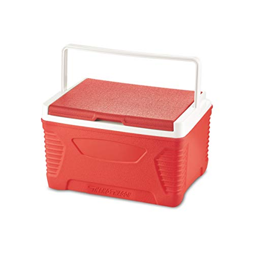 Asian Thermo-Wagon Insulated Chiller ice Box, 14 ltr Red