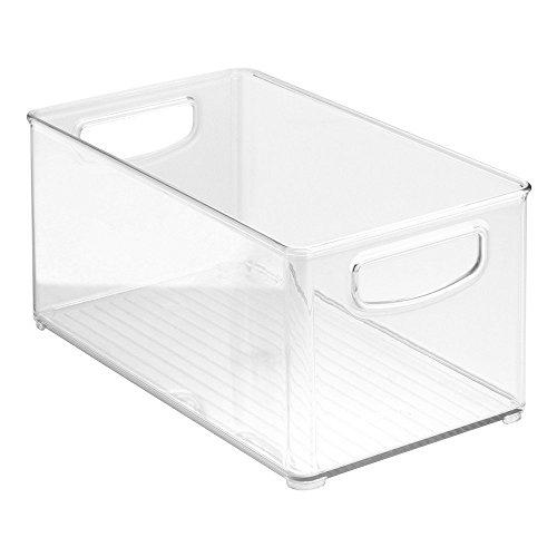 Mutfakla Uyumlu Saplı Şeffaf Düzenleyici Saklama Kutusu I Buzdolapları, Dolaplar ve Yiyecek Kileriyle En İyi Uyumlu - 10