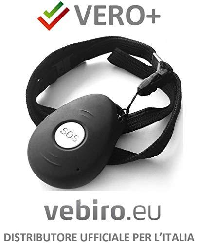 Vero+ - Telesoccorso SOS GSM con localizzazione satellitare e riconoscimento automatico caduta