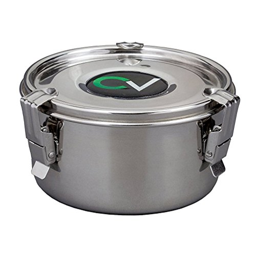 CVault Stainless Steel Humidity Control