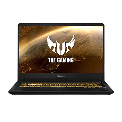"ASUS TUF TUF705DT-H7114T PC Portable 17.3"" FHD 120Hz (AMD Ryzen R5-3550H, RAM 16Go DDR4 (8Go x 2), 512Go SSD, Optimus NVIDIA GeForce GTX 1650 GDDR5 4GB, Windows 10) Clavier AZERTY Français"