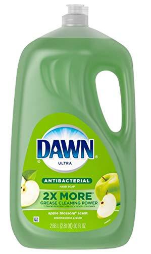 Dawn Ultra Antibacterial Apple blossom Dishwashing liquid Hand Soap 90 FL OZ
