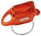 PETZL Unisex - Adulto Belay Fusible, D017AA02, Rojo y Naranja, Talla única