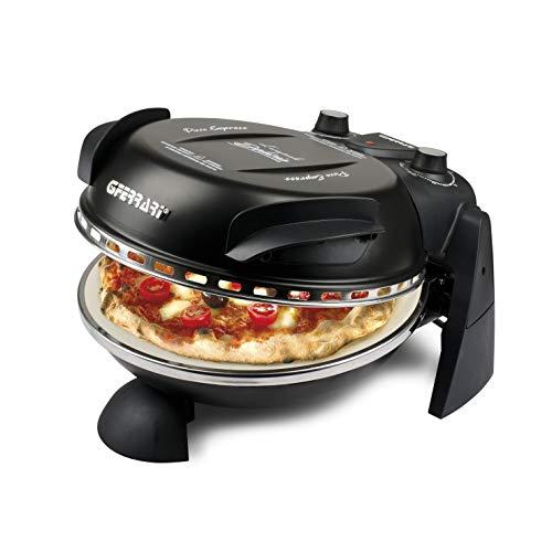 Four à pizza G3 Ferrari Delizia, 1200 W, 1 litre, 0 décibel, acier inoxydable, Noir (Classe d'efficacité énergétique A)