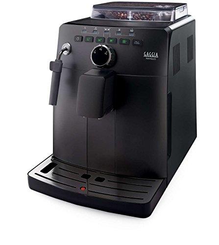 Gaggia Naviglio Black Macchina da Caffè Automatica, per Espresso e Cappuccino, Caffè in Grani, 15...