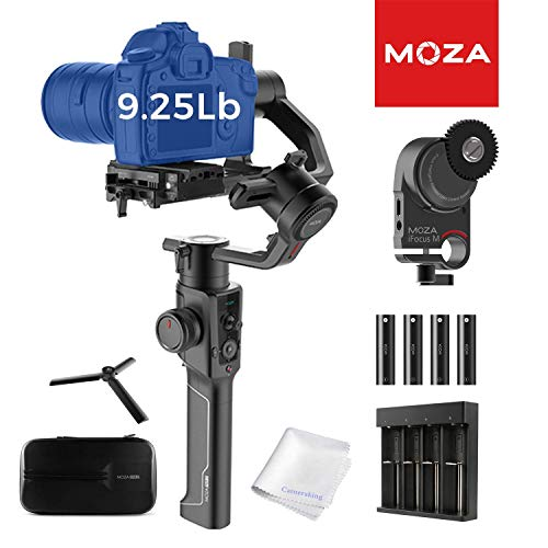 MOZA Air 2 Stabilizzatore 3-Axis Gimabl palmare con iFocusM Lens System Control Display OLED di Smart Time-Lapse per reflex digitali mirrorless Pocket Cinema Telecamere 9kg Payload