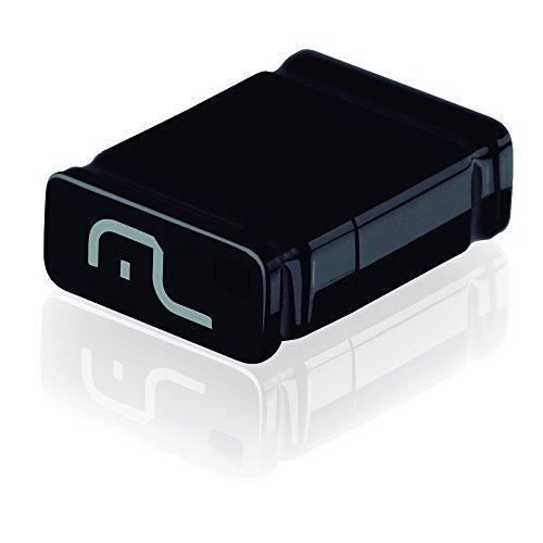 Pen Drive Nano 16GB USB Leitura 10MB/s e Gravação 3MB/s Preto Multilaser - PD054