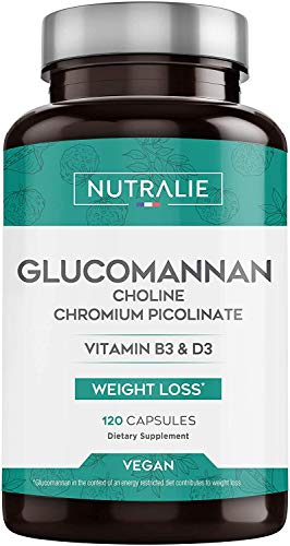 Glucomanano | Ayuda a Adelgazar e Inhibidor del Apetito 100%