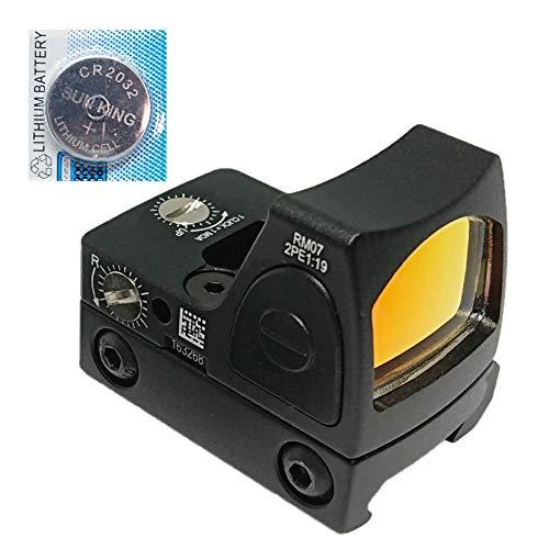 [AERITH BLACK] 改良レンズ Trijicon RMR タイプ レプリカ オープン ドットサイト ダットサイト 刻印入り 2...