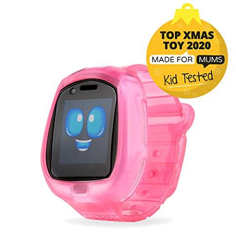 Image 1 - Little Tikes Smartwatch pour enfants Tobi le Robot avec caméras, vidéos, jeux et activités – Rose