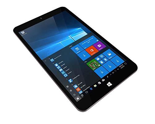TALIUS, TECH 4 U Zaphyr 8005 W - Tablet professionale da 8', 1920 x 1200, Intel Quad Core Atom Z8350, 4 GB RAM, 64 GB ROM, uscita Micro HDMI, Windows 10, 64 bit (TAL-ZAPHYR-8005W)