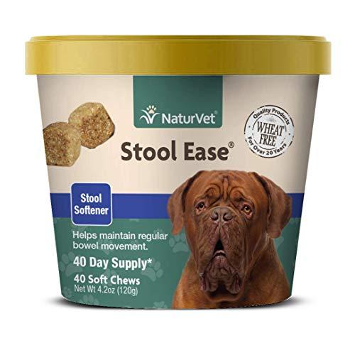 NaturVet – Stool Ease for Dogs – 40 Soft Chews...