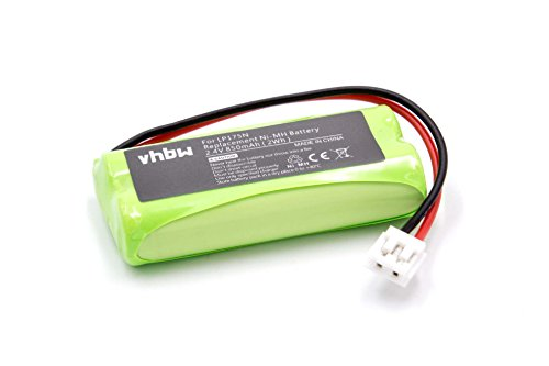 vhbw Batería NiMH 850mAh (2.4V) para