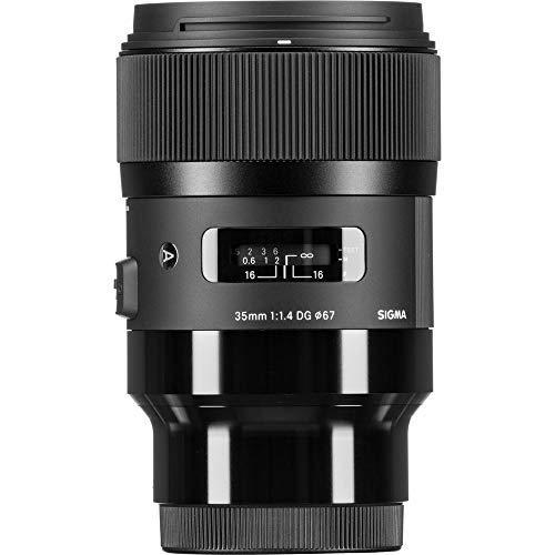 Sigma 340965 Obiettivo 35 mm-F/1.4-AF A DG HSM, Attacco Sony E-Mount, Nero